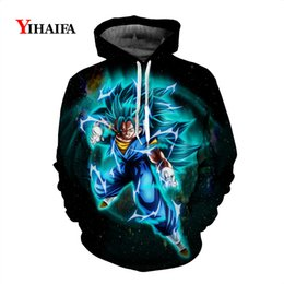 tracksuit 3d mens Australia - 2019 New Sweatshirt Mens Fashion 3D Print Anime Hoodies Goku Z Graphic Pullover Tracksuit Casual Cartoons Tops
