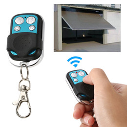 Switch Gate Australia - 433MHz Universal Wireless Remote Control Switch Receiver RF 4 Button Duplicator Copy Code Cloning Key for Car Gate Garage Door
