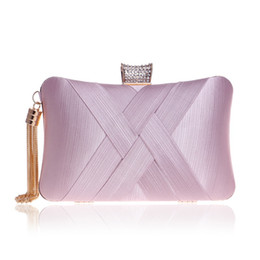 Discount mse model - Factory direct cross-border power surplus imitation silk evening bag burst models Ms. banquet evening bags ladies dres H