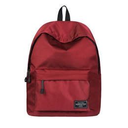 a8e1c73a45 Runningtiger Unisex New Boy Girl Printing Swisswin Backpack Red Solid Color  Lady Schoolbag Teenager School Bags Shoulders Casual Satchel