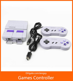 Discount nes classic mini - Super Classic SFC TV Handheld Mini Game Consoles 2018 Newest Entertainment System For 660 SFC NES SNES Games Console Dro