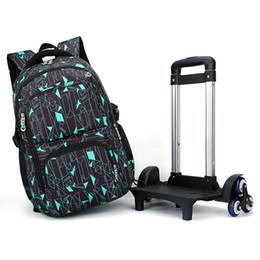 $enCountryForm.capitalKeyWord NZ - ZIRANYU Kids Boys Girls Trolley Schoolbag Luggage Book Bags Backpack Latest Removable Children School Bags 2 6 Wheels Stairs