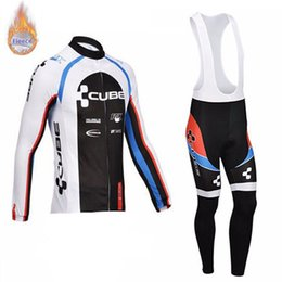 $enCountryForm.capitalKeyWord Australia - 2019 CUBE Cycling wear NEW Cycling Jersey Sets MTB Bike Bicycle Breathable bib pants long sleeve clothes Ropa Ciclismo