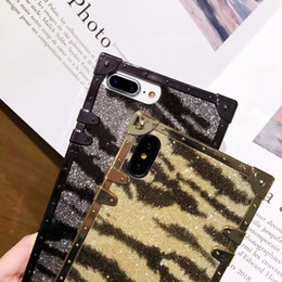 Zebra Phone Case Iphone Australia - Luxury Zebra pattern Trunk Cell Phone Cases For Apple iPhone 6 7 8 plus Long Strap Back Case Cover For iPhone X XR XSMAX