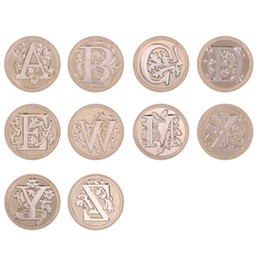 $enCountryForm.capitalKeyWord Australia - Cheap Stamps 26 Letters A-Z Envelope Sealing Wax Stamp Alphabet Letter Retro Wood Seal Kits Replace Copper Head Hobby Tools Sets