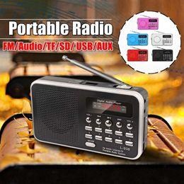 $enCountryForm.capitalKeyWord Australia - LEORY Mini Portable Radio FM Handheld Digital FM MP3 AUX SD TF Card USB Playback Loop Play Stereo Loudspeaker Rechargeable