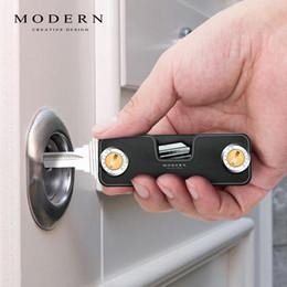 $enCountryForm.capitalKeyWord NZ - Modern - Brand New Aluminum Smart Key Wallet Diy Keychain Key Holder Key Organizer Y19052202