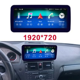 """$enCountryForm.capitalKeyWord NZ - Android 8.1 display for Mercedes Benz C Class W204 Car 2008 to 2010 10.25"""" touch screen GPS Navigation stereo radio multimedia player"""