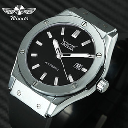 jaragar automatic watches UK - Jaragar Sports Automatic Mechanical Mens Watches Top Brand Luxury Military Punk Wristwatches Montre Homme Rubber Strap Clock Y19070603