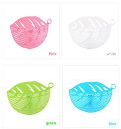 $enCountryForm.capitalKeyWord UK - Clean Wash Rice Filter Baffle Buckle Leaf Shape Drainboard Sieve Fruit And Beans Peas Vegetable Wash Rice Filter Kitchen Tools