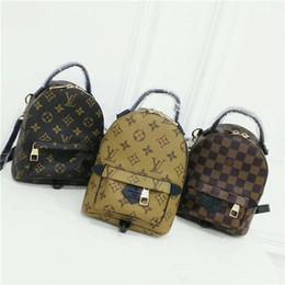 b3b82f4f72f3 Дети дизайнер рюкзаки студенты школьные сумки 2019 Новые высокое качество  PU плечи сумки мода подросток девушки досуг рюкзаки 5 цветов
