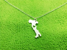 $enCountryForm.capitalKeyWord Australia - European Country Map Italy Necklace Charm Italian Italia Pride I Heart Love Capital of Italy Rome City Necklaces for Souvenir