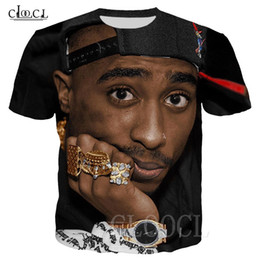 t shirt rock man NZ - 2Pac Tupac Funny T-shirt 3D Print Rock Rapper Tupac Amaru Shakur Men Women T Shirts Streetwear Oversized Yellow Tshirt Pullovers