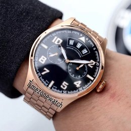 Big Pilots Watch Australia - New Pilot Little Prince IW502703 IW502701 Black Dial Big Day Date Automatic Mens Watch Rose Gold Steel Bracelet Sport Watches Timezonewatch