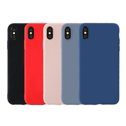 Scratched Plastic Bumper Australia - Liquid Silicone Case for iPhone Gel Bumper Phone Case with Anti-Scratch Microfiber Lining Shell Full-Body Rubber Protective Cover