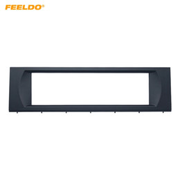 Player Dash Kits NZ - FEELDO Car 1Din Radio Audio Fascia Frame Kit for Audi A4 CD DVD Player Dash Plate Panel Installation Trim Kit #2362