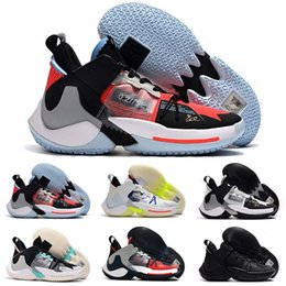 basketball sneakers popular Canada - 2020 Mens Jumpman Russell Westbrook Why Not Zero.2 II Elite SE Basketball Shoes Sport Shoe Zero PF Popular Boys Sneakers Trainers