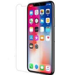 $enCountryForm.capitalKeyWord NZ - 9H HD Premium Front Back Tempered Glass For iphone XS Max XR X 8 Plus 6 6s 7 7 Plus 5 5S Screen Protector Film For iphone X