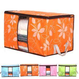 $enCountryForm.capitalKeyWord Australia - Hot sale Foldable Storage Bags Anti-bacterial Quilt Clothes Wardrobe Closet Storage Boxes Socks Toy Sundries Organizer Bags