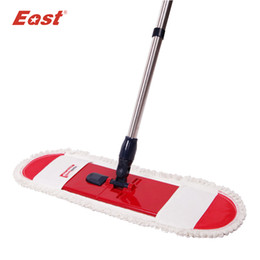 eco friendly towels UK - East Cleaning tools floor telescopic rotation mop with pole cotton cloth towel for home floor kitchen living room cleaning T200628