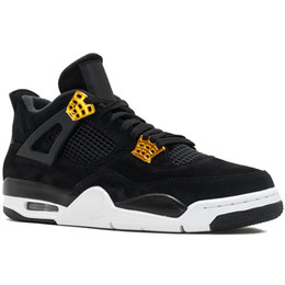 Wholesale 4 S Men Basketball Shoes Raptor Tattoo Black Cat Toro Bravo Fire Red White Cement Pure Money Oreo Designer Sports Sneakers
