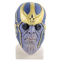 $enCountryForm.capitalKeyWord Australia - Latex Mask Child Birthday Toys Gift Thanos Cosplay Mask Props Halloween Make Up Shield Mask Infinity War Head Covers