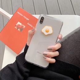 $enCountryForm.capitalKeyWord Australia - Mytoto Super cute dinosaur egg cartoon transparent silicone hard phone case for iphone X XR XS MAX 7 8 6 S