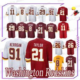 Redskins 21 Sean Taylor Ryan 91 Kerrigan Alex 11 Smith jerseys Kirk 8  Cousins jerseys 2d3e3747d