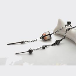 $enCountryForm.capitalKeyWord UK - Thaya Vintage Long Earrings Dropping Sky Lanterns Handmade S925 Sterling Silver Studs For Women Elegant Jewelry Y19070902