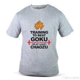$enCountryForm.capitalKeyWord Australia - Dragon Ball Z Chaozu Goku Gohan Cartoon Fight Grey Mens Tee T Shirt