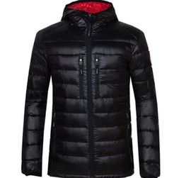 Wholesale clothing canada for sale – custom Winter Jacket Men Clothes New Brand Hooded Parka Cotton canada Coat Men Keep Warm goose Jackets Fashion Coats