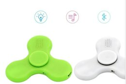 $enCountryForm.capitalKeyWord Australia - 100 pieces per lot brand new hand spinner as well bluetooth speaker with led lighting