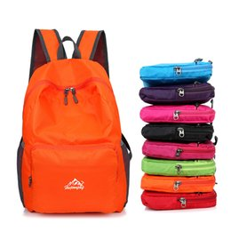 Bag Outdoor Mountaineering Australia - Ultralight Outdoor Sports Bags Waterproof Camping Climbing Bag Foldable Hiking Shoulder Bag Trekking Mountaineering Backpack
