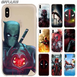 DeaDpool iphone case online shopping - Deadpool Phone Cases luxury Silicone soft Cover for iPhone XI R X XS Max XR S Plus S SE Coque
