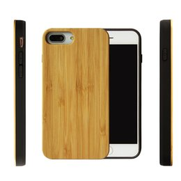 Wood Iphone Case Dhl Australia - Hot sale Wood Cover For Iphone X XS XR xmax Nature Bamboo Wooden Phone Case Bumper Back Shell For Iphone 7 8 6S Plus Free DHL