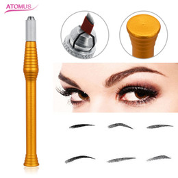 $enCountryForm.capitalKeyWord Australia - Eye Brow Tattoo Manual Pen Eyebrow Microblading Pen Permanent Makeup Supply Microblade Accessories Tool Beauty Supply