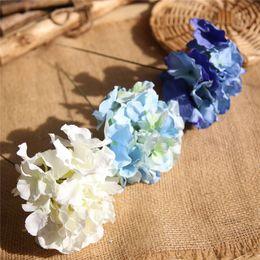 $enCountryForm.capitalKeyWord Australia - 32cm Long Artificial Hydrangea Decorative Silk Flower Head For Wedding Wall Arch Diy Flower Bouquet Home Decoration Accessory Props