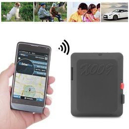Gps Gsm Tracking Australia - Mini GSM Locator With Camera Monitor Video Tracker Real Time Tracking and Listening GPS Tracker with SOS Button X009 #425