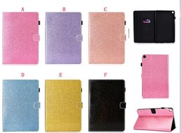 $enCountryForm.capitalKeyWord Australia - Bling Glitter Wallet Leather Case For Samsung Galaxy Tab A 10.1 2019 T510 T515 Tab A 8.0 P200 P205 S5e T720 T725 Tablet Stand Skin Cover