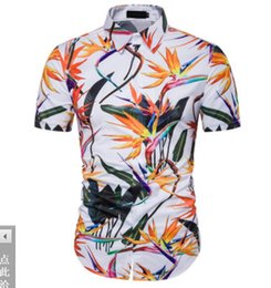 $enCountryForm.capitalKeyWord Australia - 19 New type Men's Clothes Short-sleeved Shirts 3D Printing Sandy beach polos Hair Stylist tees Leisure Nightclub large size T shirts M-3XL