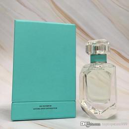 Bottles 75ml online shopping - Perfume for woman Citrus Fragrance Musk Highest Quality Water Spray Diamond Glass Bottle ml EDP Fast Shipping