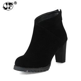 $enCountryForm.capitalKeyWord UK - 2018 large sizes 32-43 platform zip up women shoes woman high heels black ankle boots women yuj89