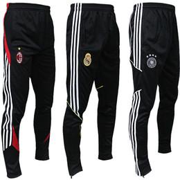 Soccer Team Club Jersey UK - 2018 Quality Soccer Club National Team Training Football Jerseys GYM Joggers Harem pantalones deporte Jumper Men Riding Running Trousers