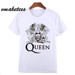 $enCountryForm.capitalKeyWord NZ - Asian Size FREDDIE MERCURY Heavy Rock top 100 T T-shirt Short sleeve O-Neck Tshirt For Men Women HCP627
