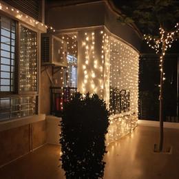 $enCountryForm.capitalKeyWord NZ - 6Mx5M 960 LED Christmas Curtain Icicle Fairy LED String Light Outdoor Holiday Wedding Party Window Icicle Garland Light US EU UK AU Plug
