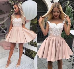 37fb1e98255 Short Blush Prom Dresses Ball Gown Nigerian Lace Draped Ruched Homecoming  Dresses Cheap Juniors Graduation Dress 5th Grade Custom Made