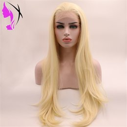 $enCountryForm.capitalKeyWord NZ - 613 Blonde 13x4 Lace Front Wig Pre Plucked Dark Roots Natural Wavy Brazilian Simulation Human Hair For Black Women cosplay party wig