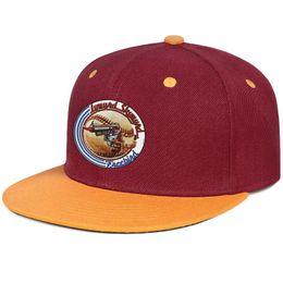 $enCountryForm.capitalKeyWord UK - Lynyrd Skynyrd baseball logo mens and women flat brim hats burgundy snapback cool custom hats custom kids make your own fashion blank base