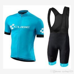 Wholesale Pro Cube Team Jersey Cycle Clothing Ropa Ciclismo Racing Bike Cycling Jerseys Mountain Bicycle Jerseys Cycling Wearshorts se t f