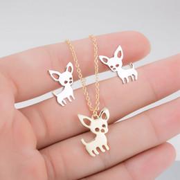Wholesaler Boho Jewelry Australia - 2019 Boho Animal Necklaces for Women Girls Geometric Cat Dog Statement Necklaces Jewelry Animal Accessories Gifts